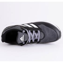 Adidas FortaFaito Jr FV6118 shoes black grey 6