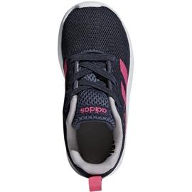 Adidas Lite Racer Cln K Jr BB7053 shoes navy pink 1