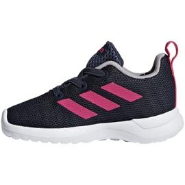 Adidas Lite Racer Cln K Jr BB7053 shoes navy pink 2