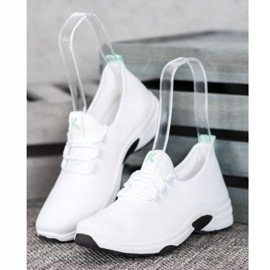 Kylie Classic Sport Shoes white 1