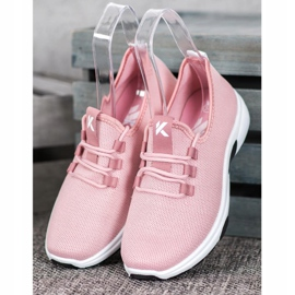 Kylie Classic Sport Shoes pink 2