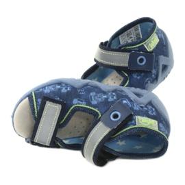 Befado yellow children's footwear 350P011 navy blue grey green 5