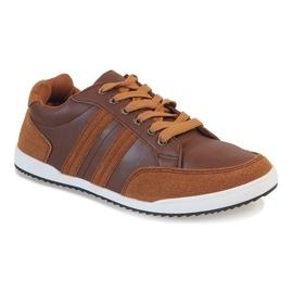 Camel men's sneakers M-616 brown 1