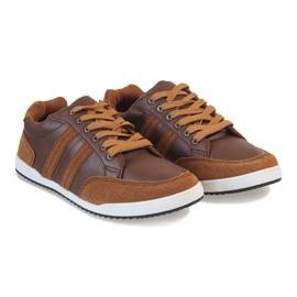 Camel men's sneakers M-616 brown 2