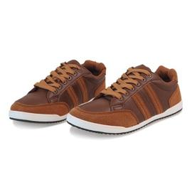Camel men's sneakers M-616 brown 3