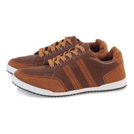 Camel men's sneakers M-616 brown 4