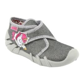Befado children's shoes 523P016 pink grey 2