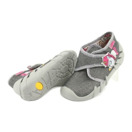 Befado children's shoes 523P016 pink grey 4