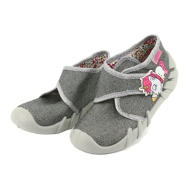 Befado children's shoes 523P016 pink grey 3