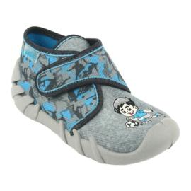 Befado children's shoes 523P014 blue grey multicolored 2