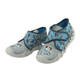 Befado children's shoes 523P014 blue grey multicolored 4