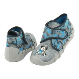 Befado children's shoes 523P014 blue grey multicolored 5