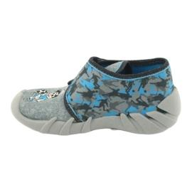Befado children's shoes 523P014 blue grey multicolored 3