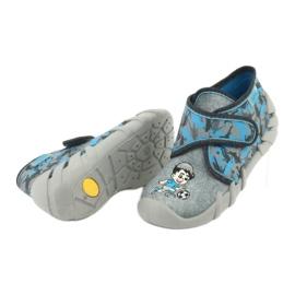 Befado children's shoes 523P014 blue grey multicolored 6