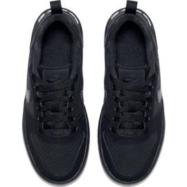 Nike Court Borough Low Gs 839985 001 shoes black 1