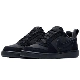 Nike Court Borough Low Gs 839985 001 shoes black 2