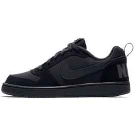 Nike Court Borough Low Gs 839985 001 shoes black 3