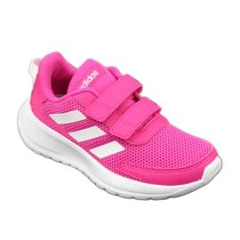Adidas Tensaur Run Jr EG4145 shoes white pink 1