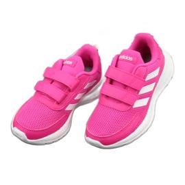 Adidas Tensaur Run Jr EG4145 shoes white pink 3