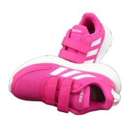 Adidas Tensaur Run Jr EG4145 shoes white pink 5