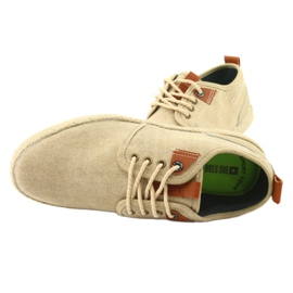 Espadrilles men's shoelaces Big Star FF174153 brown 5