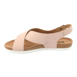 Big Star Women's Sandals FF274624 pink 2