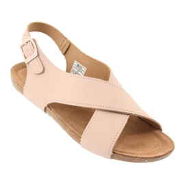 Big Star Women's Sandals FF274624 pink 1