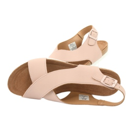 Big Star Women's Sandals FF274624 pink 5