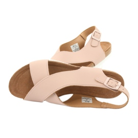 Big Star Women's Sandals FF274624 pink 4