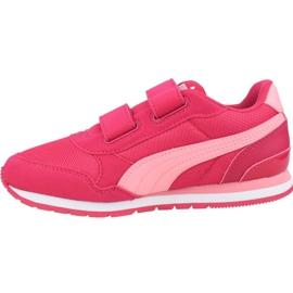 Puma St Runner V2 Mesh Ps Jr 367136 08 shoes pink 1