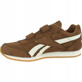 Reebok Royal Cl Jogger Jr DV9149 shoes brown 1