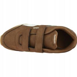 Reebok Royal Cl Jogger Jr DV9149 shoes brown 2