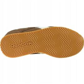 Reebok Royal Cl Jogger Jr DV9149 shoes brown 3