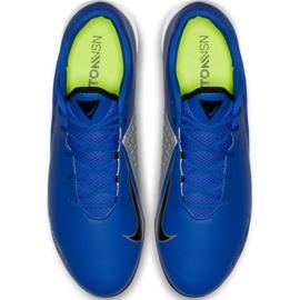 Nike Phantom Vsn Academy Ic AO3225 400 football shoes blue navy 2