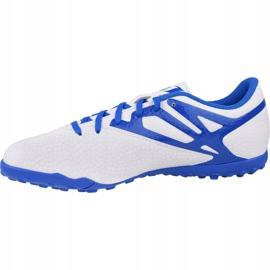 Adidas Messi 15.4 Tf M B25466 football shoes white multicolored 1