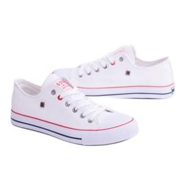 Big Star Low Mens White Sneakers T174102 2