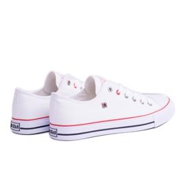 Big Star Low Mens White Sneakers T174102 1