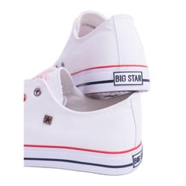 Big Star Low Mens White Sneakers T174102 3