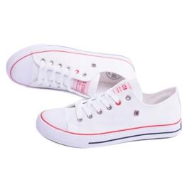 Big Star Low Mens White Sneakers T174102 5
