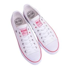 Big Star Low Mens White Sneakers T174102 4