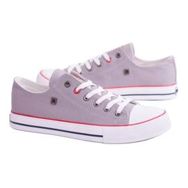 Big Star Low Mens Gray Sneakers T174109 grey 5