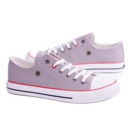 Big Star Low Mens Gray Sneakers T174109 grey 2
