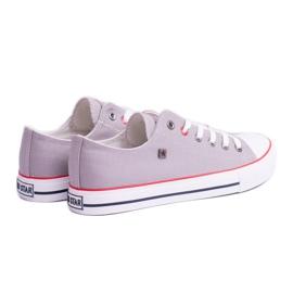 Big Star Low Mens Gray Sneakers T174109 grey 1