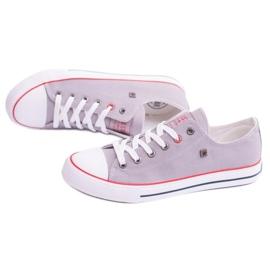 Big Star Low Mens Gray Sneakers T174109 grey 4
