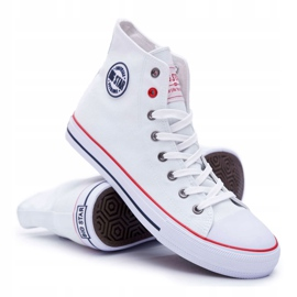 Big Star High Mens White Sneakers T174106 6