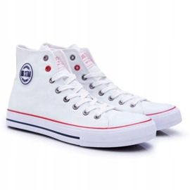 Big Star High Mens White Sneakers T174106 2
