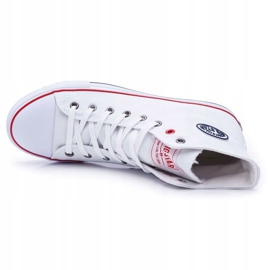 Big Star High Mens White Sneakers T174106 4