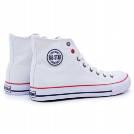 Big Star High Mens White Sneakers T174106 3