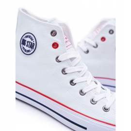 Big Star High Mens White Sneakers T174106 5
