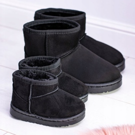 BUGO Insulated Black Children's Youth Boots Snow Boots Gooby 2